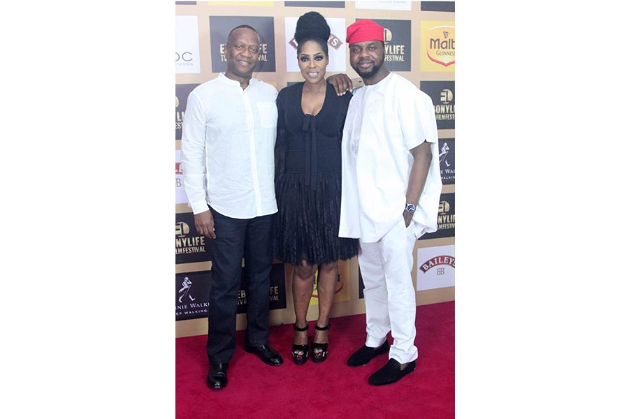 Cyril Laryea, Mo Abudu and Debola Williams