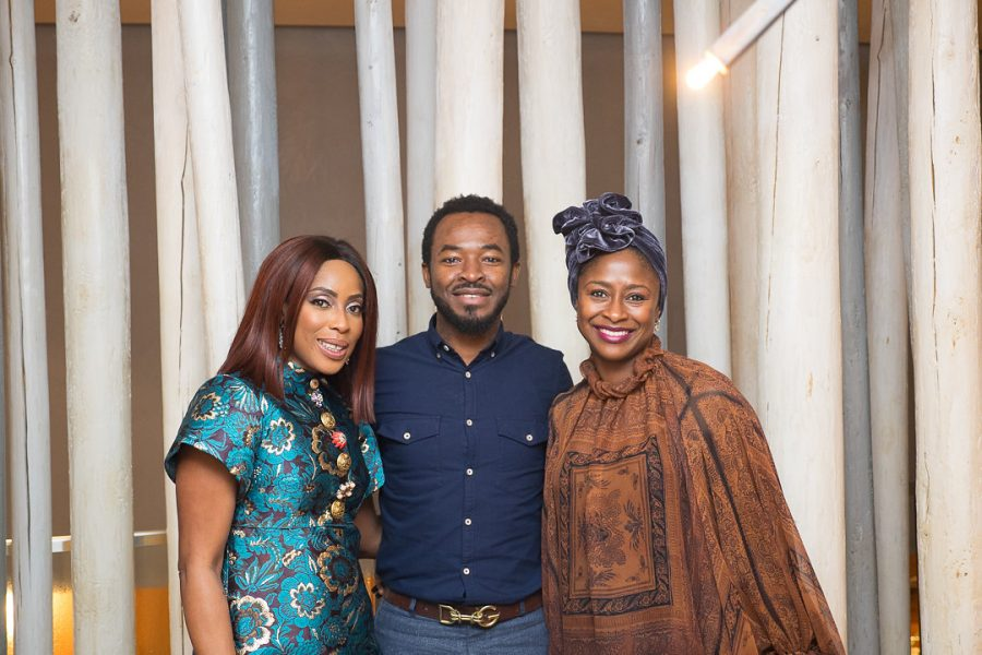 Mo Abudu's birthday dinner