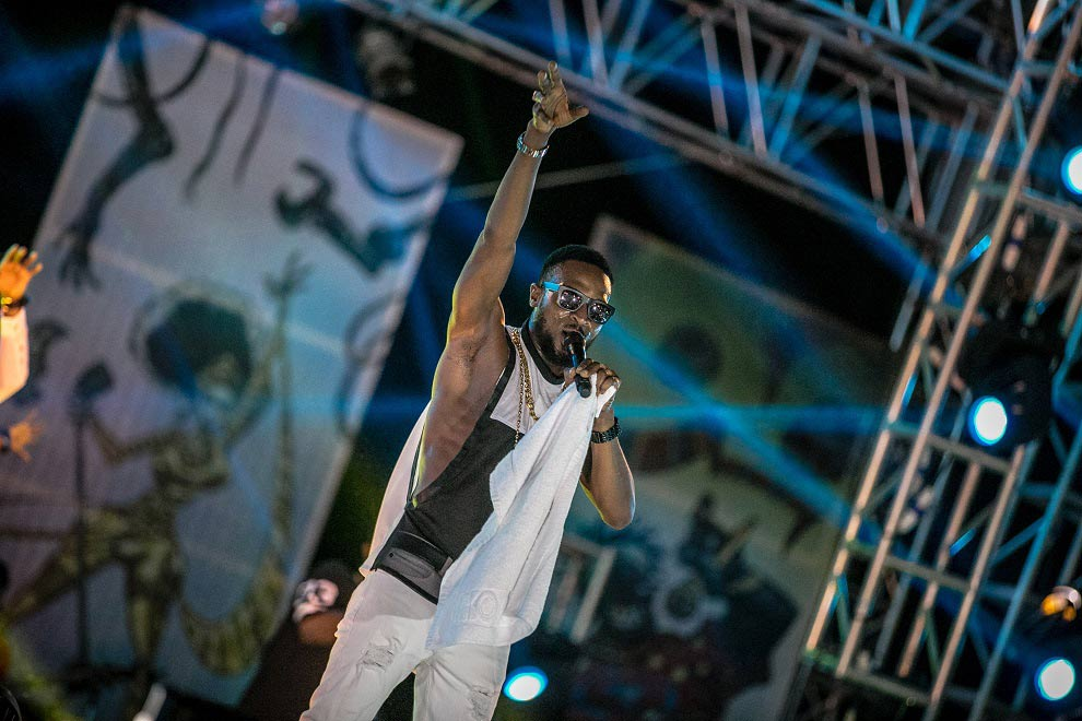 D'banj-on-the-#HeinekenGidiFest-stage