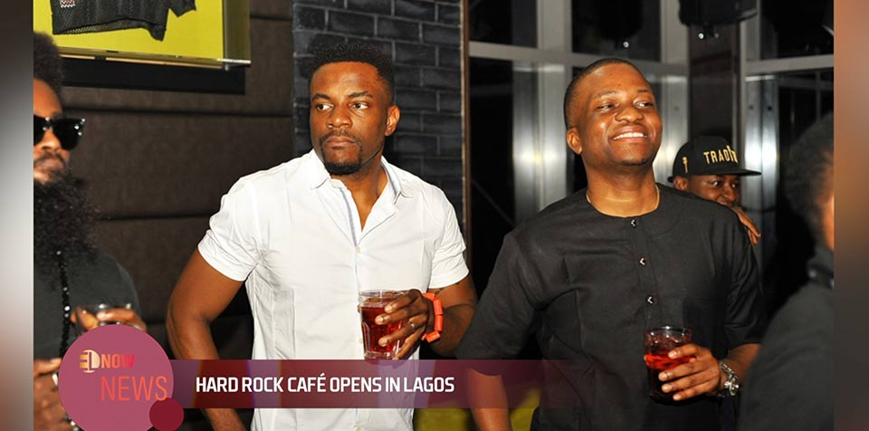 Ebuka Obi Uchenndu with Tunde Demuren Hard rock cafe