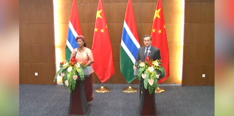 China, Gambia resume diplomatic ties