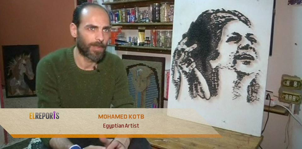 Egyptian artist Mohamed Kotb