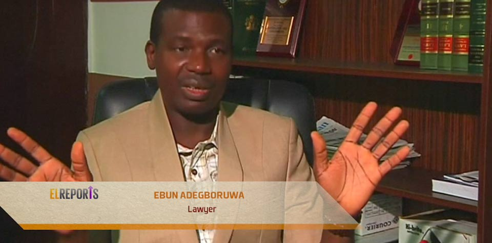 Ebun Adegboruwa, a Lagos-based lawyer,