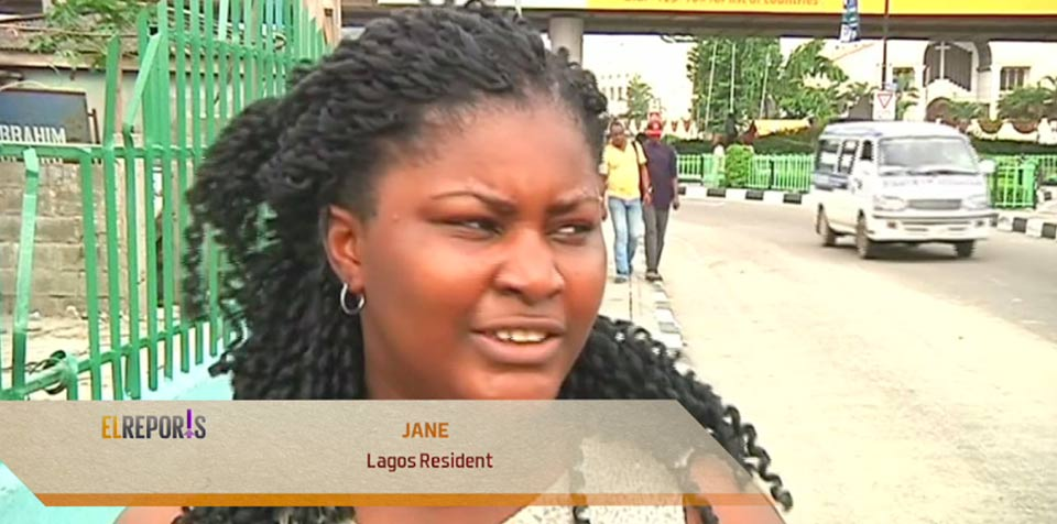 Dike Jane, a resident of Lagos