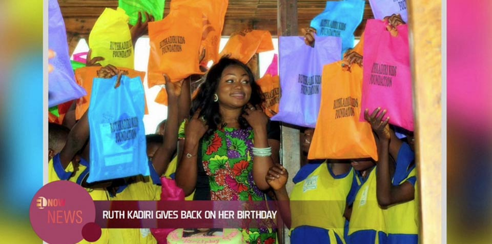 Ruth Kadiri gives back on her birthday