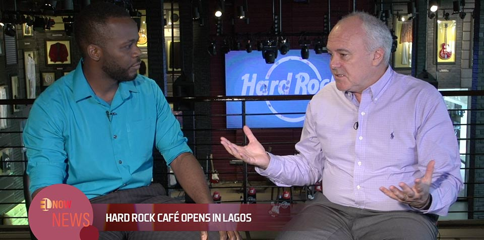 Tosin Odunfa caught up with the President and CEO of Hard Rock Café Hamish Dodds.