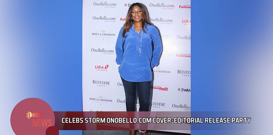 Celebs storm Onobello.com cover-editorial release party