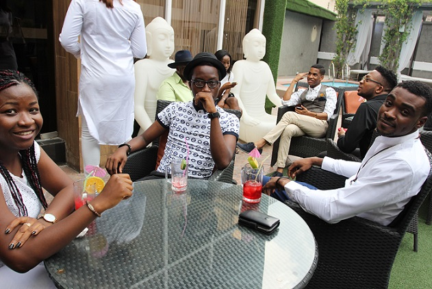 Guests at the #exploringHangout in Ikoyi 3