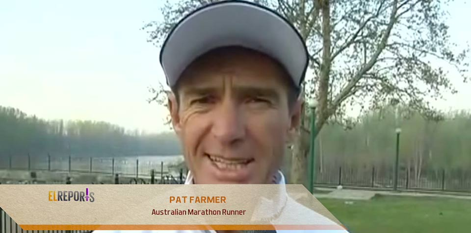 Australia's pat farmer reaches Kashmir on last leg of 'Spirit of India Run'