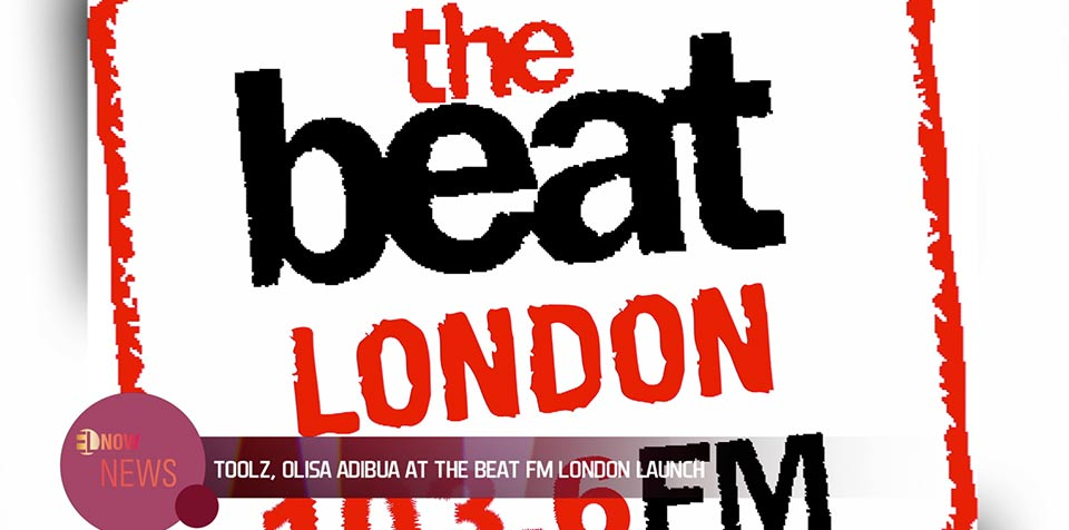 Toolz, Olisa Adibua at the Beat FM London launch