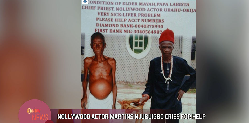 Nollywood actor Martins Njubuigbo cries for help