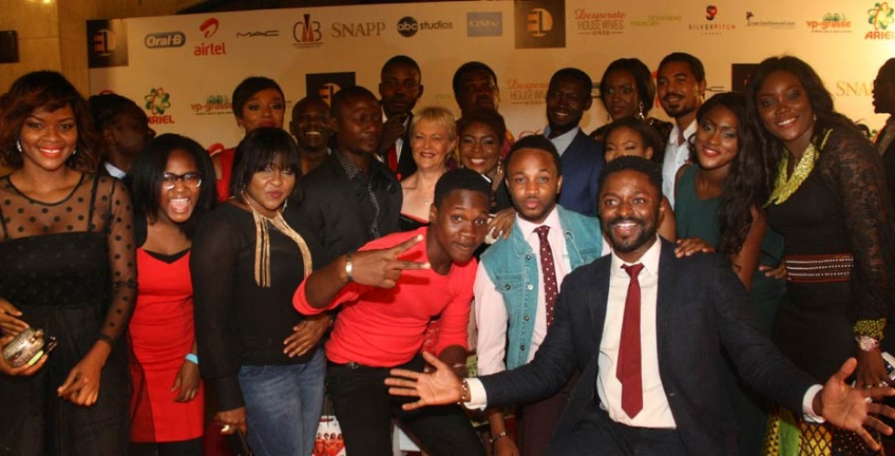 Through the eyes of the paparazzis –  Desperate Housewives Africa premiere in pictures