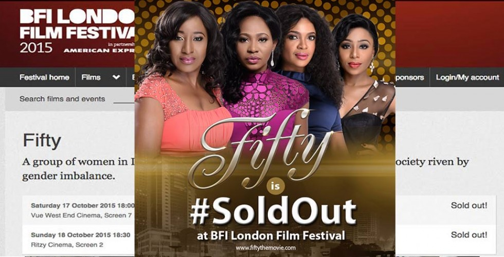 FIFTY's BFI LONDON PREMIERE SELLS OUT IN 4 DAYS