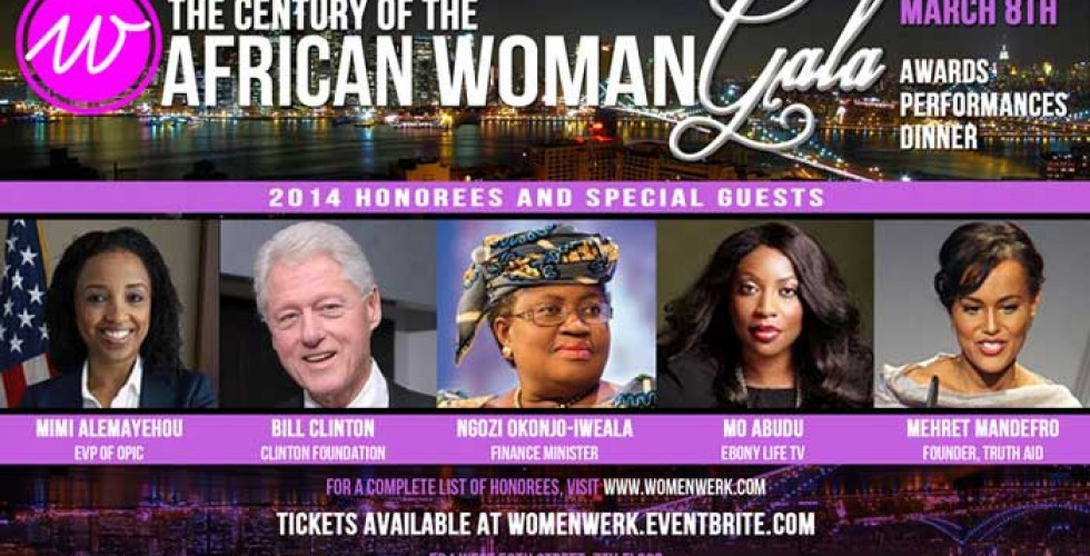 "WomenWerk Announces ""The Century of the African Woman"" Forum and Gala on March 8th in New York City"