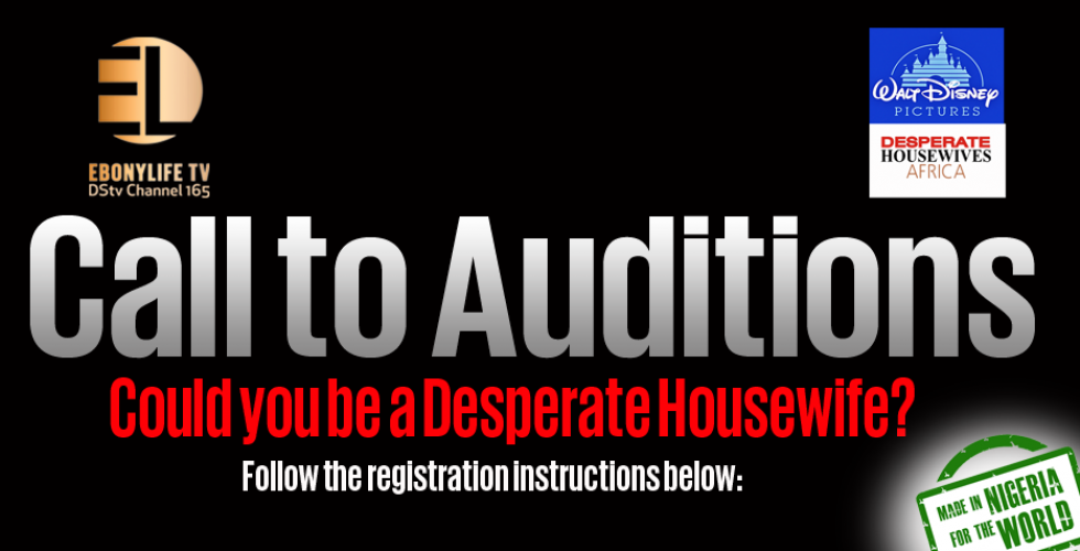 Call to Auditions – Desperate Housewives Africa
