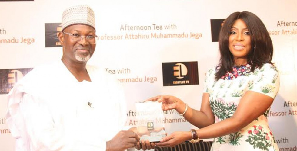 EbonyLife TV hosts young professionals and Professor Jega at Afternoon Tea