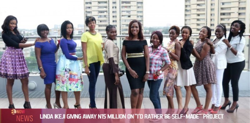 "Linda Ikeji giving away N15 million on ""I'd Rather Be Self-Made"" project"