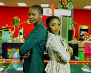 we rock like that @Zainab__Balogun & Kedike @chidinmaekile