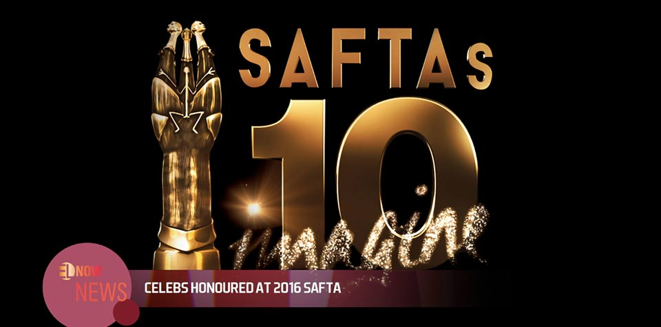 Celebs honoured at 2016 Safta
