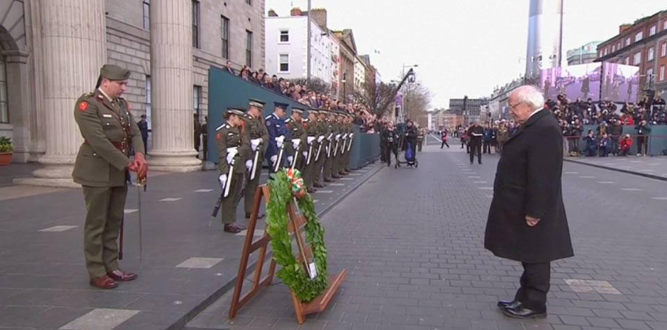 Ireland marks centenary of uprising that led to independence