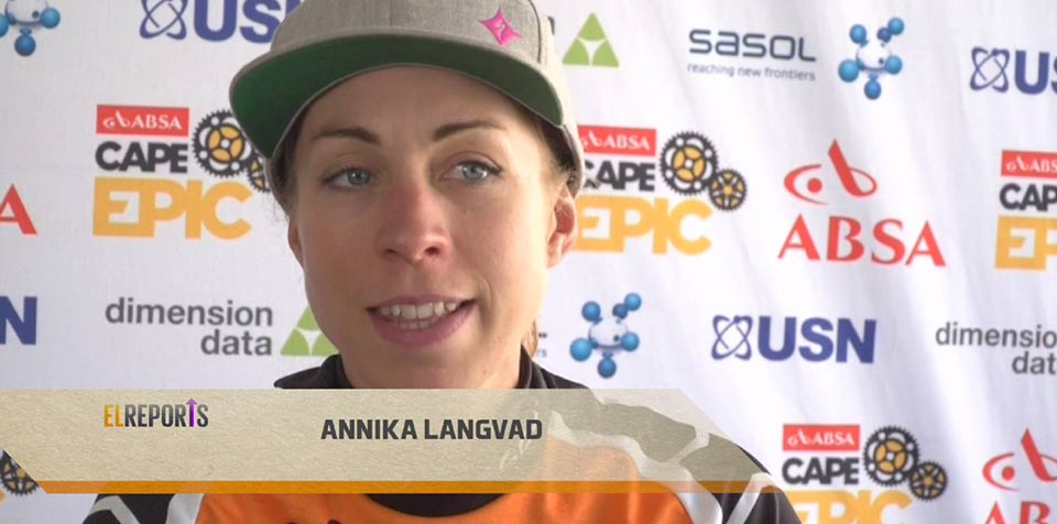 Kleinhans and Langvad win women's event