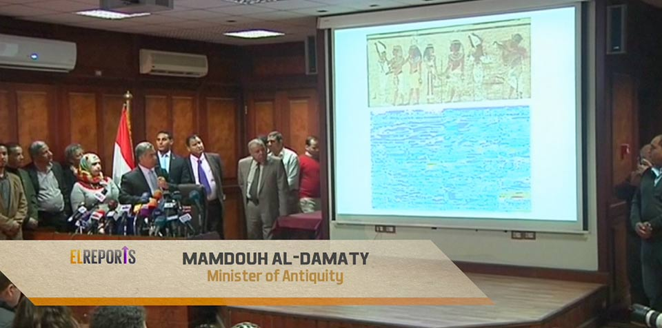 Mamdouh Al DamatyEgypt finds new clues that Queen Nefertiti may lie buried behind Tut's Tomb