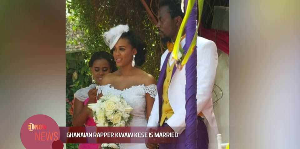 Ghanaian rapper Kwaw Kese is married